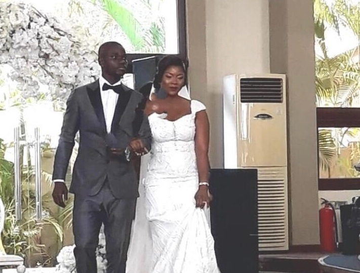 Jonathan Mensah's beautiful wedding with longtime girlfriend