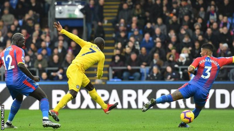 Kante scores to give Chelsea five-point gap over Arsenal