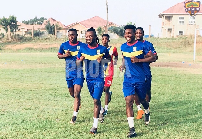 Hearts of Oak playing-body resume training