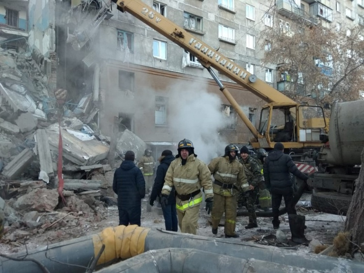 Four dead, 68 missing in Russia apartment block explosion