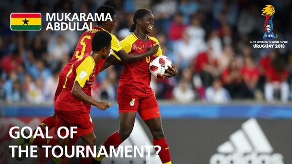Mukarama & Suzzy Teye in contention for goal of the tournament for FIFA U-17 WWC