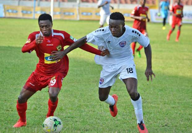 Asante Kotoko beat Inter Allies FC 3-0 to prepare for CAF Confederation Cup