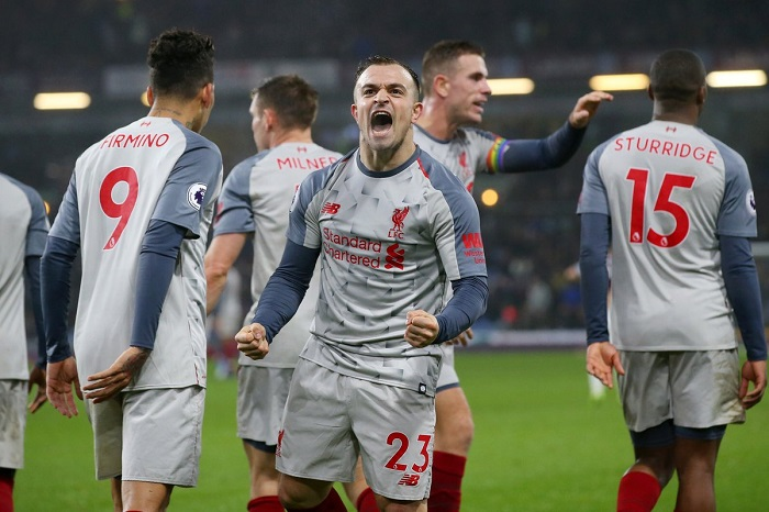 Liverpool fought back to beat Burnley