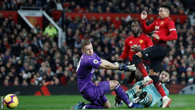 Jesses Lingard earns point for Manchester United