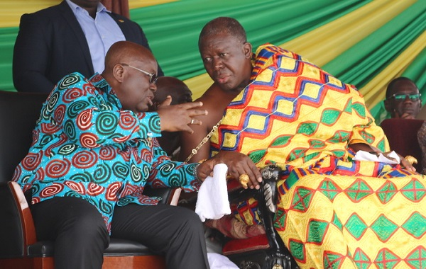 2 arrested for trying to work 'juju' on Nana Addo, Otumfuo, others