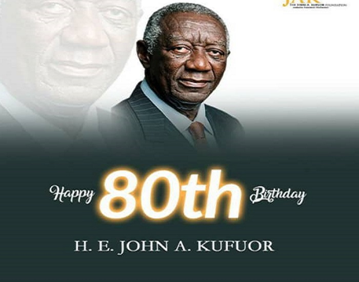 Social media reactions as Ex president Kufuor turns 80
