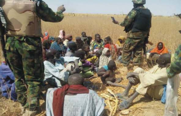 Nigeria army releases 183 detained children