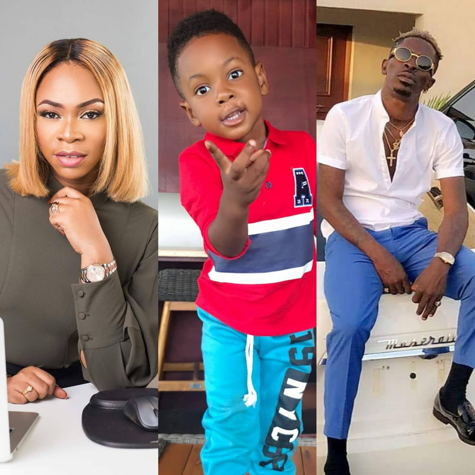 Shatta Michy and I love you, Shatta Wale tells son on his birthday
