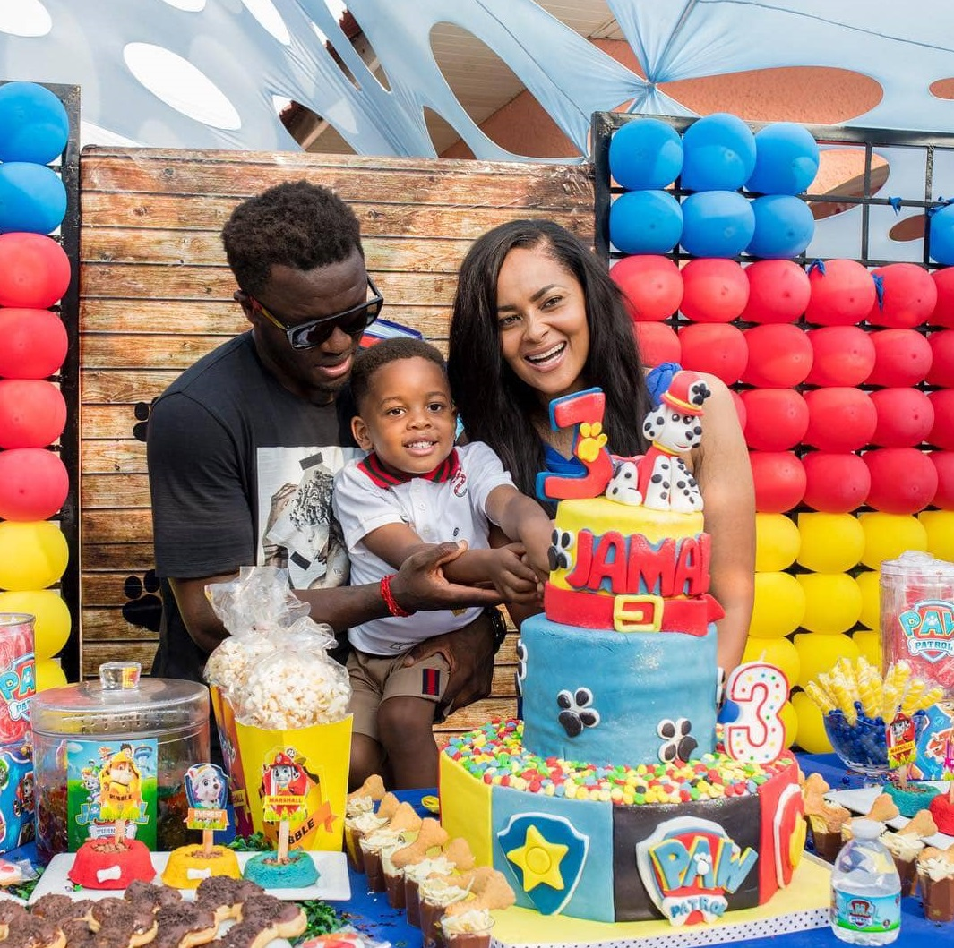 How Muntari's son Jamal celebrated his birthday