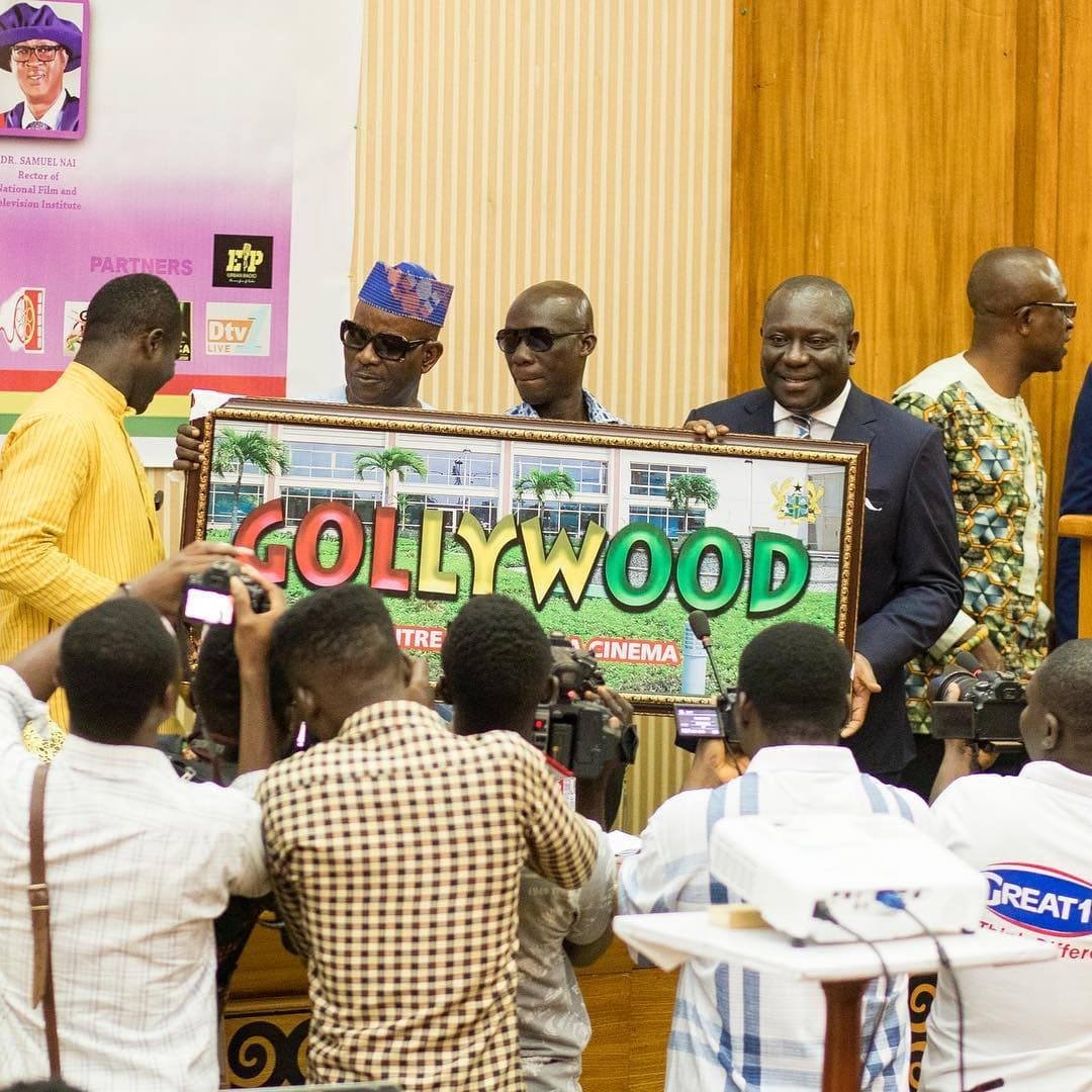 Ghana Film Industry finally rebrands to Gollywood