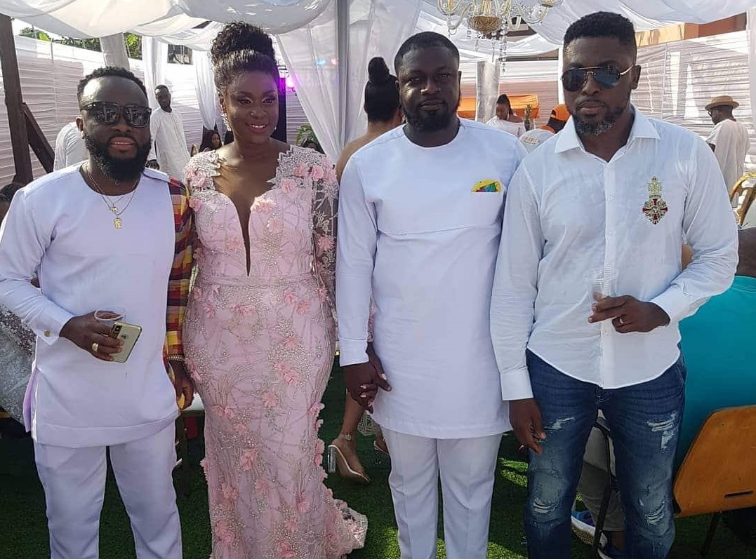 Lovely photos from Bibi Bright's wedding ceremony
