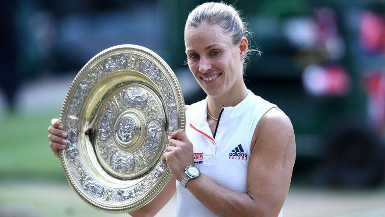 Angelique Kerber outmanoeuvred Serena Williams to claim her maiden Wimbledon title
