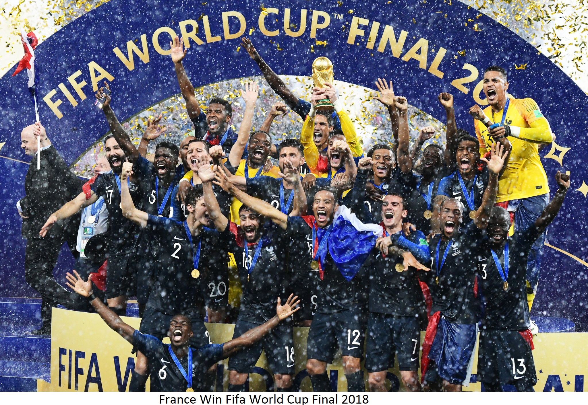 All the World Cup winners since it started