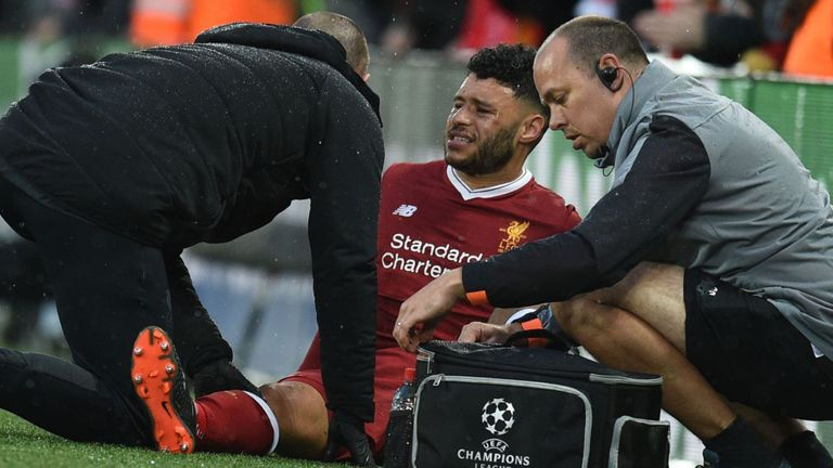 Alex Oxlade-Chamberlain is expected to miss the majority of the 2018/19 campaign