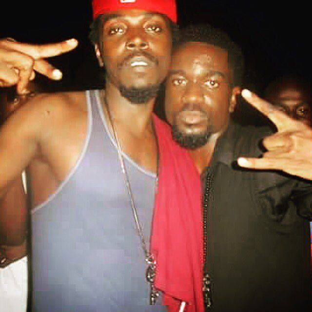 throwback photo of Sarkodie and Kwaw Kese shows money can be everything