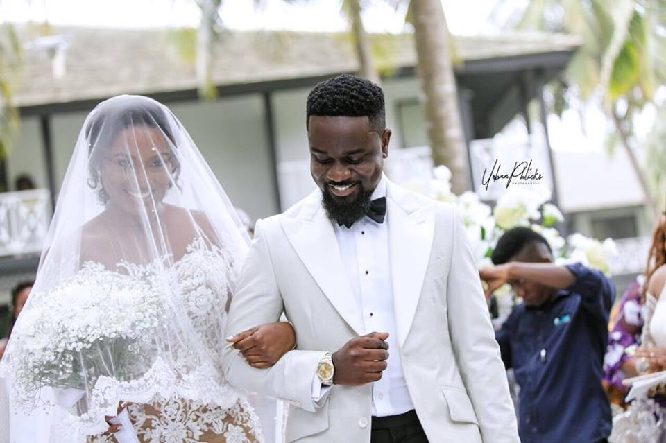 Sarkodie and Tracy's wedding photos are just beautiful