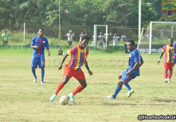 Hearts to play Liberty Professionals