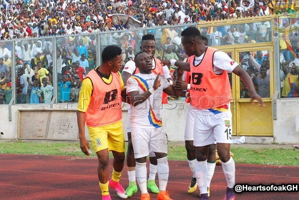 Hearts will play in the Bakatue Festival Gala