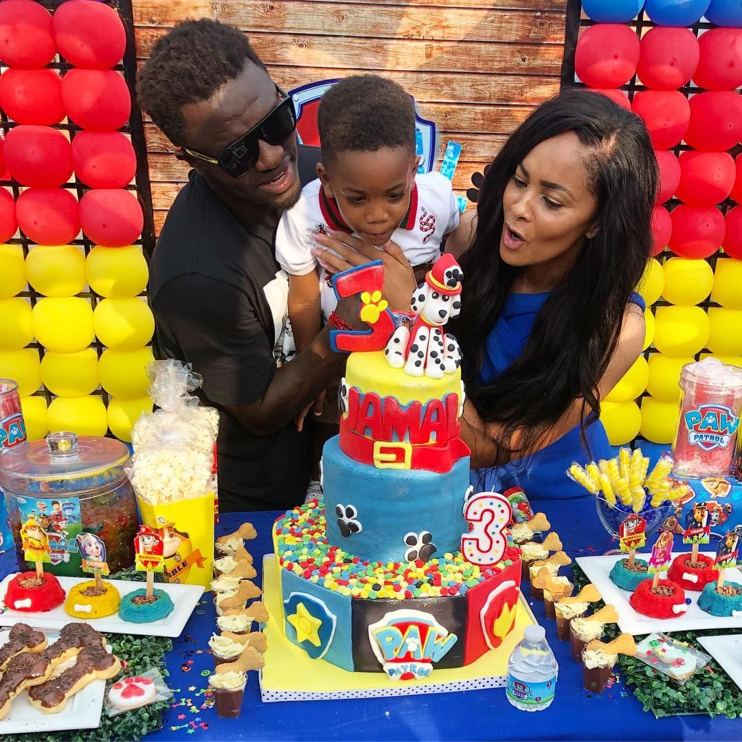 Sulley Muntari celebrates his son Jamal's birthday in grand style