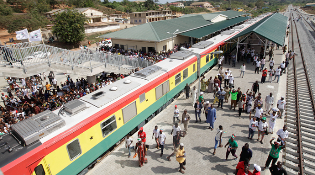 Ghana signs Railway Infrastructure agreement with South Africa