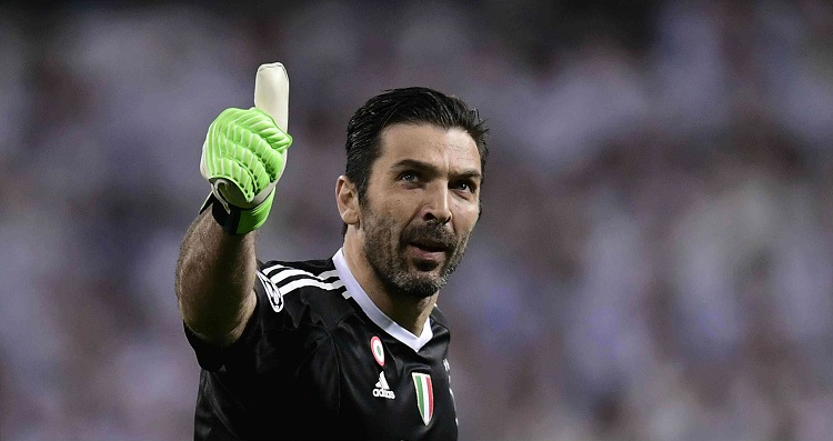 Gianluigi Buffon is a PSG player