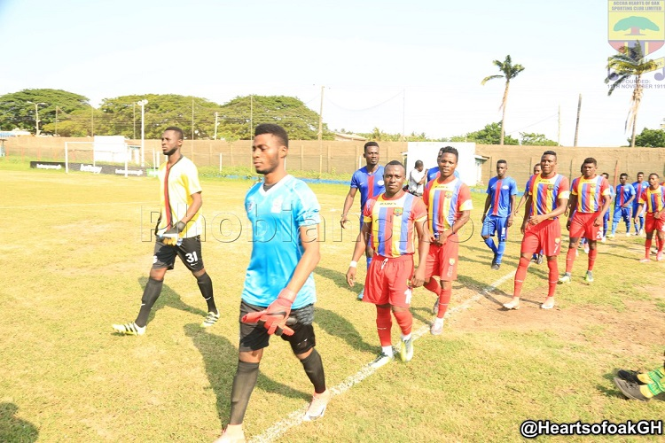 Hearts of Oak vs Liberty Professionals.