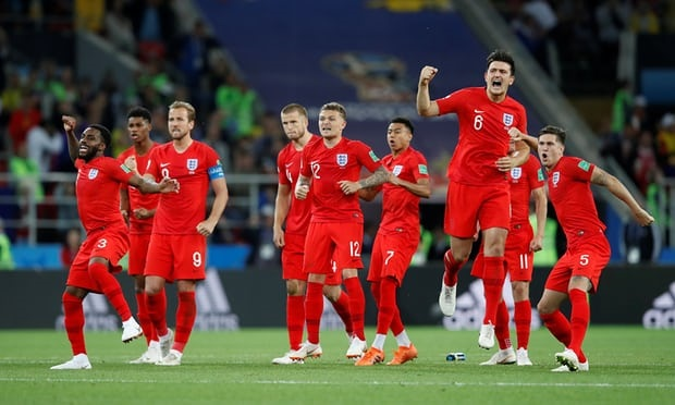 England beat Colombia on penalties in Russia 2018