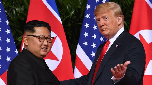 Trump signs historic agreement with Kim Jong Un