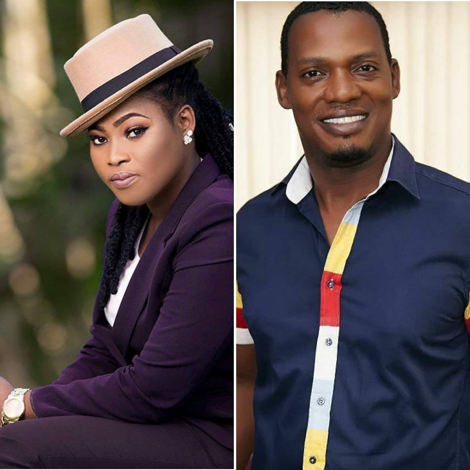 Kwesi Ernest hit back at Joyce Blessing over cheating comment