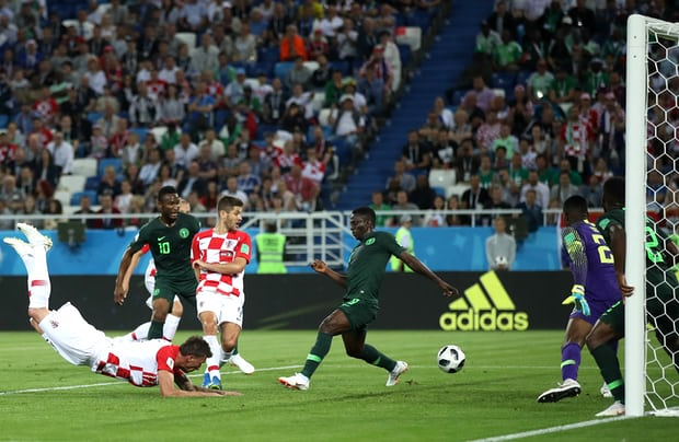 Croatia beat Nigeria 2-0 at Russia 2018