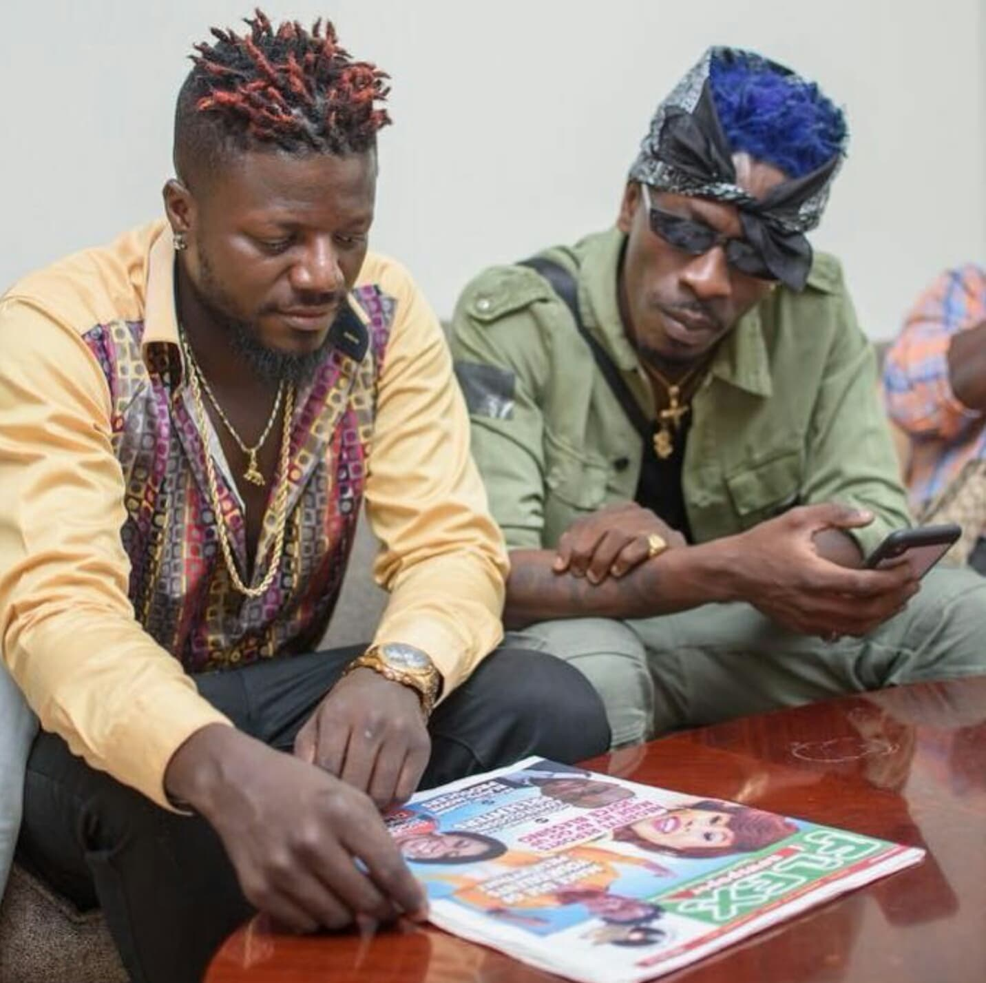 Pope Skinny disagrees with Shatta Wale's apology