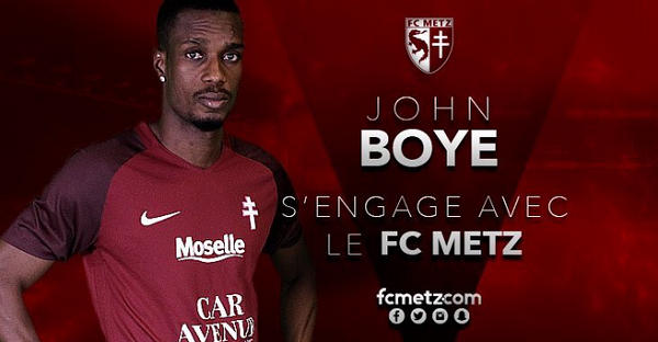 John Boye has signed for FC Metz