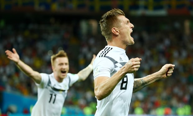 Germany beat Sweden 2-1 in Russia 2018