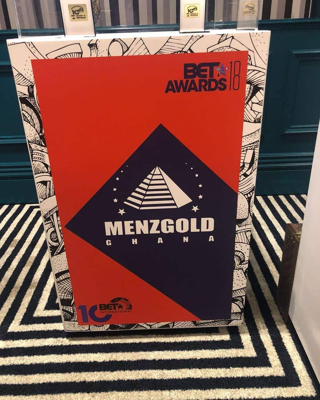 MenzGold sponsored BET Awards Cocktails and Coins
