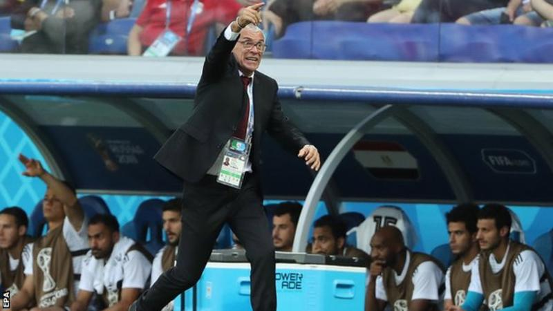Hector Cuper had been Egypt manager since 2015