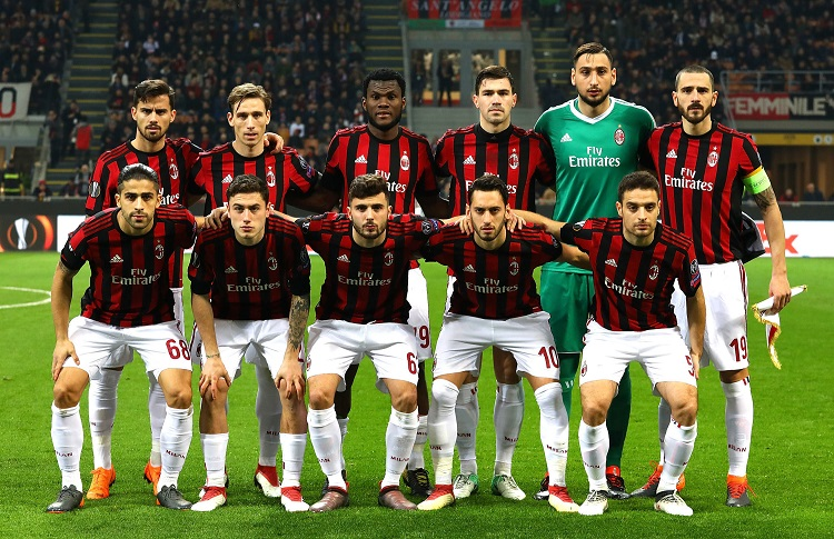 AC Milan banned from European competitions next season