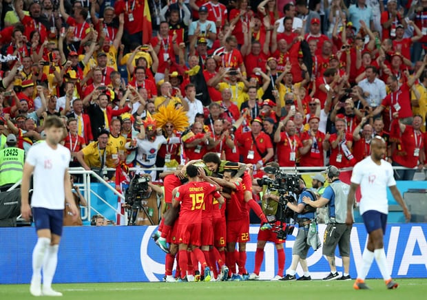 Belguim beat England 1-0 at Russia 2018