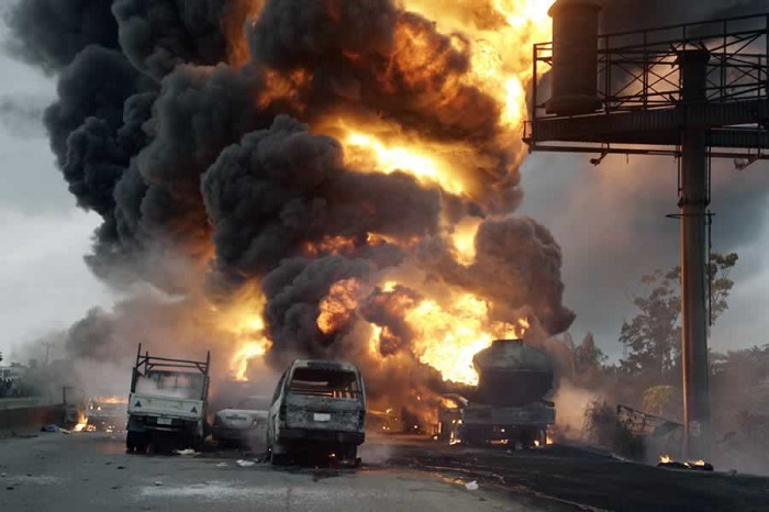 Nigeria: 9 dead, over 50 vehicles burnt in fuel tanker explosion