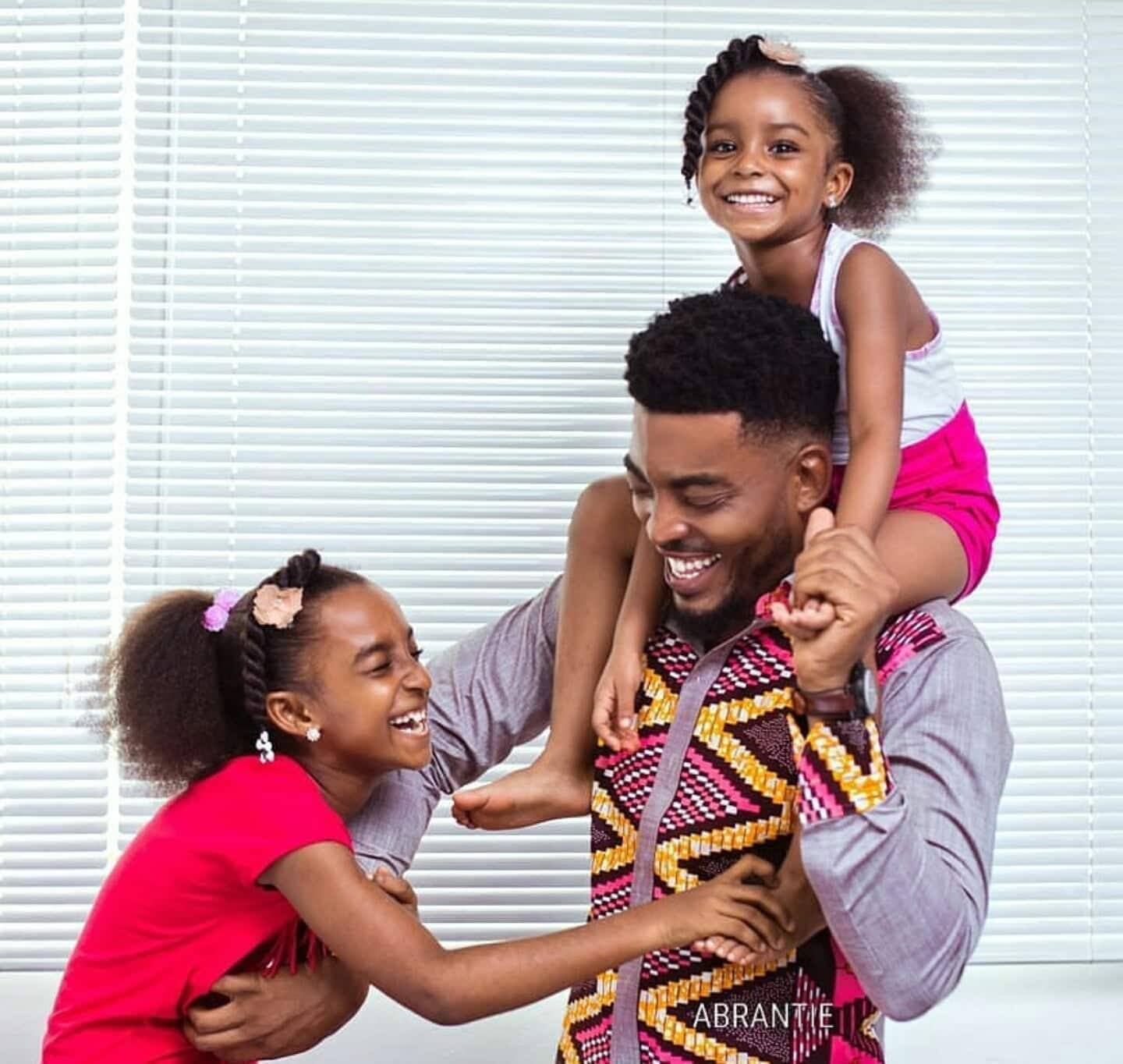 How Ghanaian celebrities celebrated Father's day