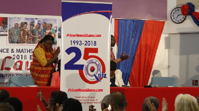 2018 National Science and Maths Quiz launched in Accra