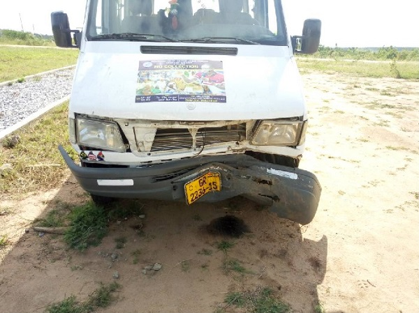 20 BECE students involved in accident, 3 injured at Gomoa Fetteh