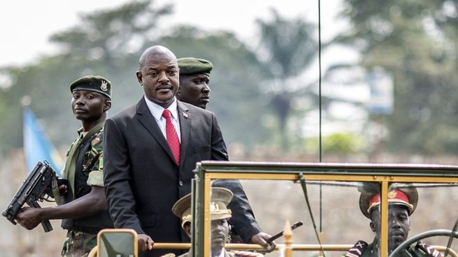 Burundi's President vows to step down in 2020