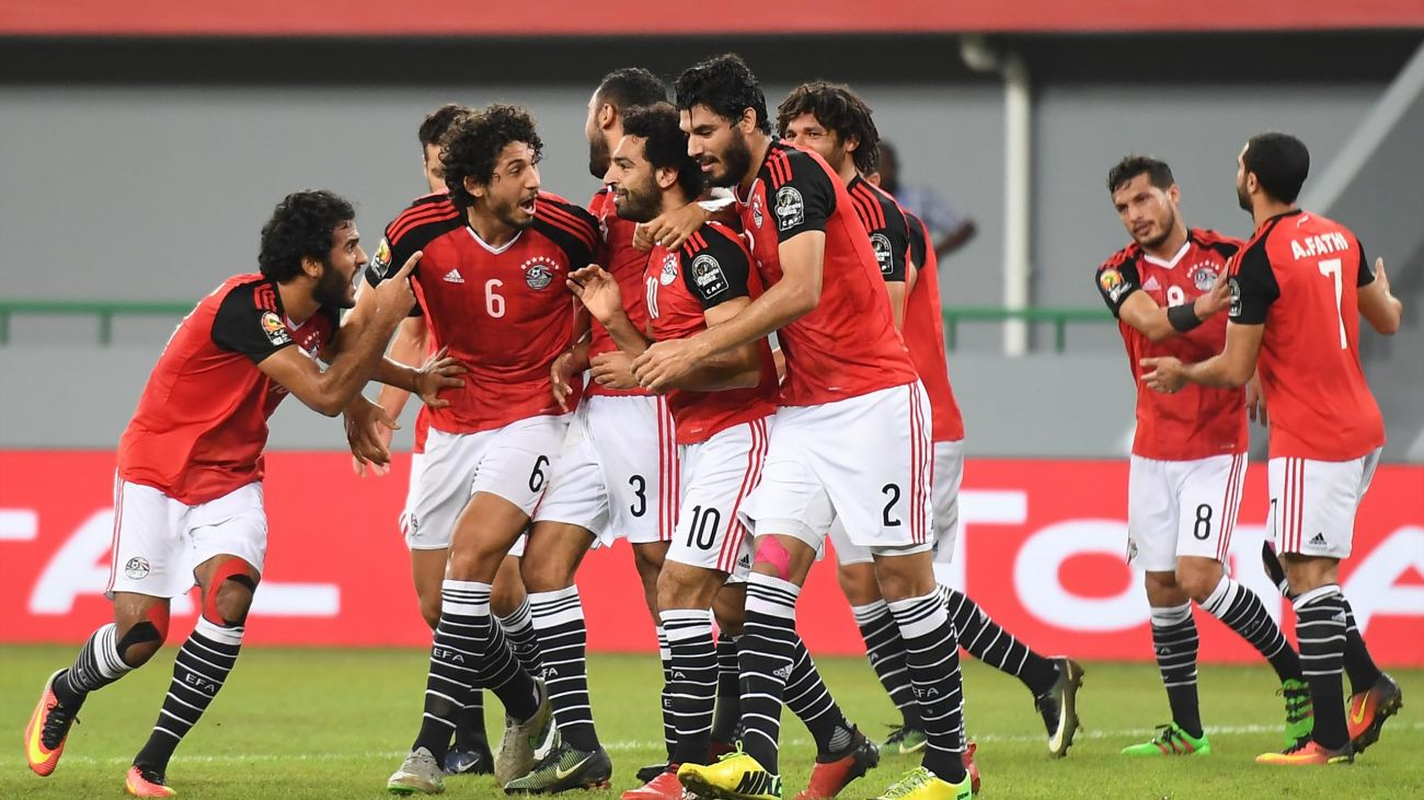 Key players for Egypt at Russia 2018