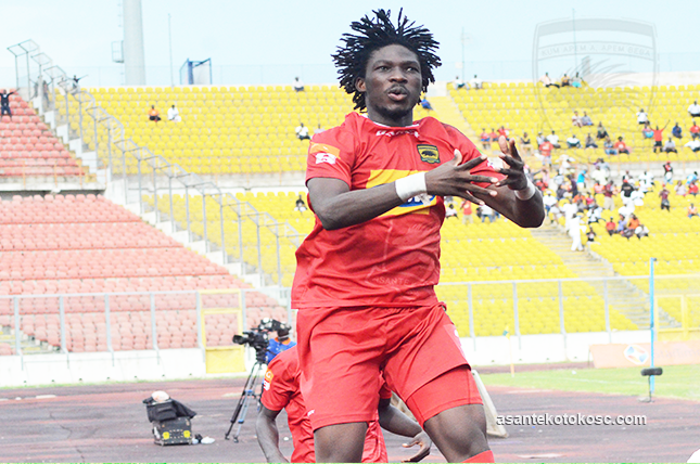 Songne Yacouba wins Kotoko player of the month award