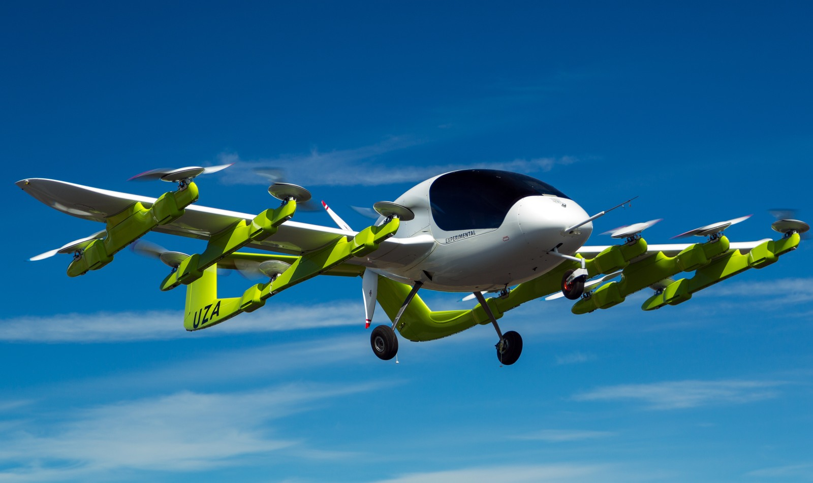 Flying taxi takes to the skies in New Zealand