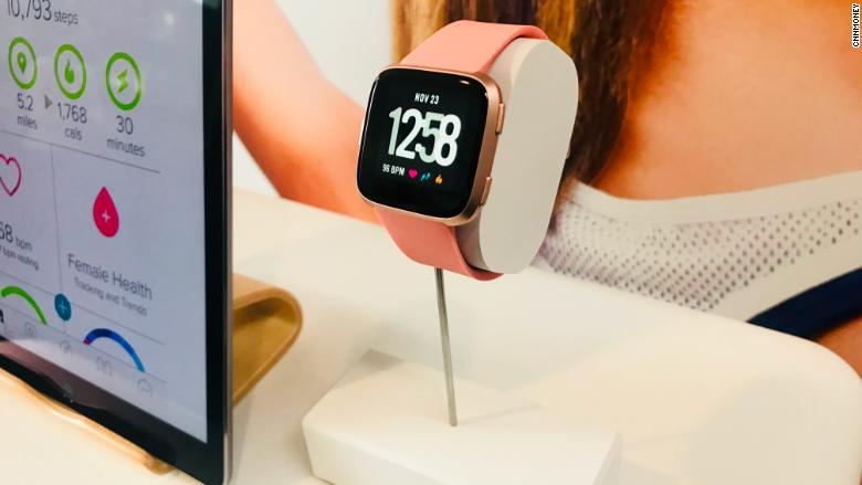 Fitbit unveils Apple Watch competitor and fitness tracker ...