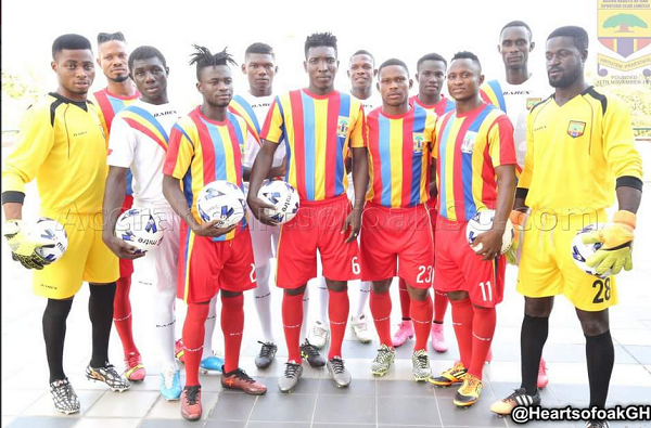 Hearts of Oak reveal squad numbers