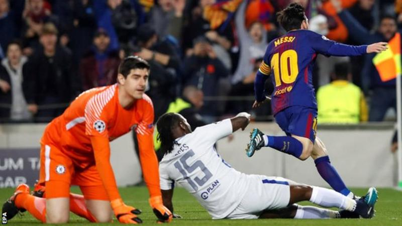 Video: Messi stars as Barcelona beat Chelsea 3-0 in UCL ...