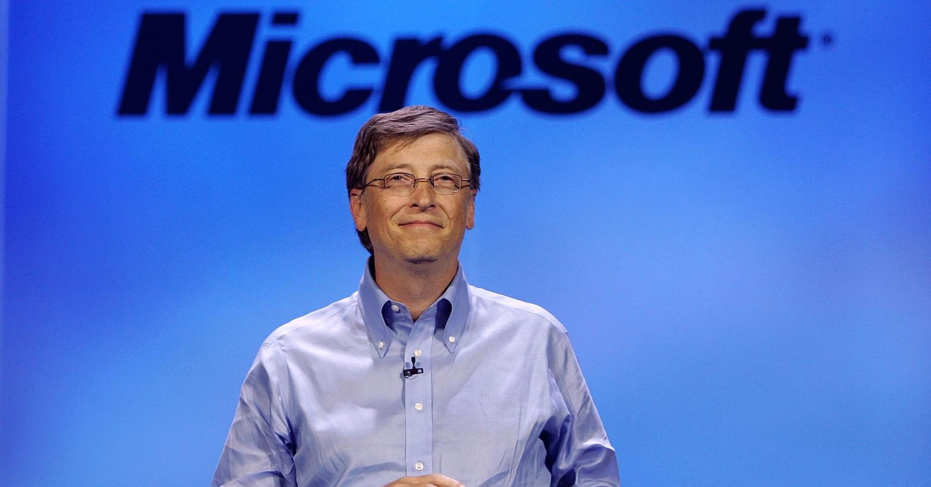 Bill Gates, founder of the Microsoft Corporation