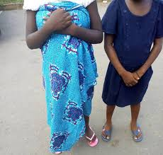 The two girls; 13-year-old [L] and the 10-year-old [R] have been sexually abused by their father